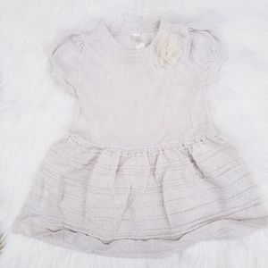 Cherokee//Oatmeal color sweater dress size 18M